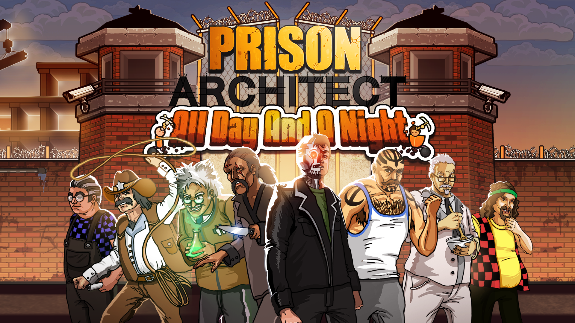 Prison Architect DLC - All Day and a Night Detailed - News ...